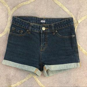 [bdg] denim shorts